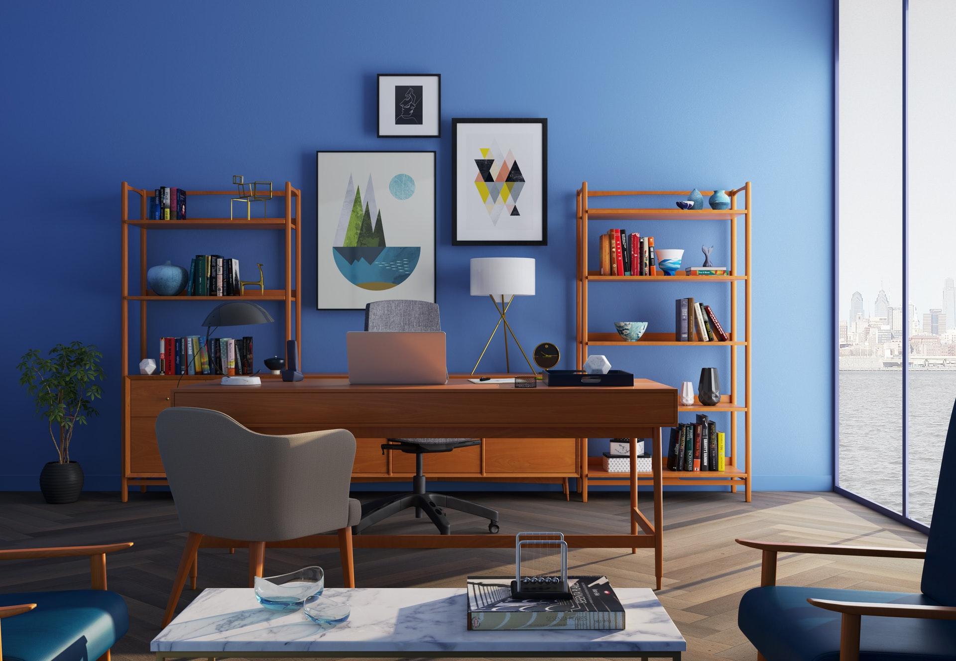 Tips voor een fijn thuiswerk kantoor