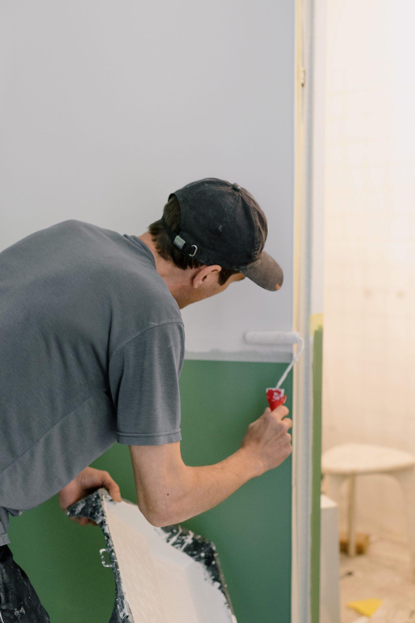 Zelf muren schilderen